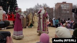 Удмурт Тол (Кыш) бабае һәм Лымы нылы (Кар кызы)