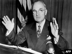 Президент США Гарри Трумэн, 1950
