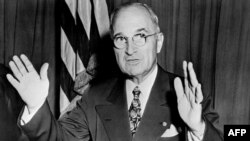 Președintele american Harry S. Truman, cel care a ajutat Europa cu planul Marshall.