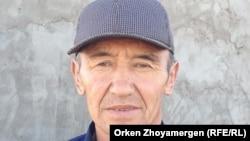 Мулик Ануарбек, житель села Коянды. Акмолинская область, 22 сентября 2013 года.