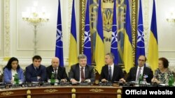 Засідання Комісії Україна-НАТО під головуванням президента Петра Порошенка. Київ, 10 липня 2017 року