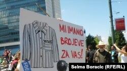 Nastavak građanskih protesta u Sarajevu