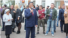 Юнир Кутлугужин на митинге за отставку Рустэма Хамитова