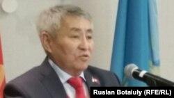 Тургун Сыздыков, кандидат в президенты, выдвинутый Коммунистической народной партией Казахстана.