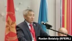 Лидер КНПК Тургун Сыздыков. Астана, 4 марта 2015 года.