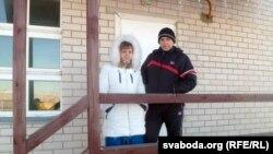 Іна і Дзяніс, уцекачы з Украіны