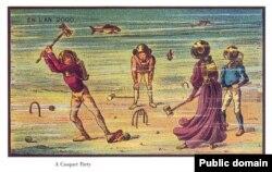 Su altında kriket oyunu