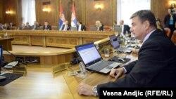 Prva sednica Vlade Srbije, 27. jul 2012.