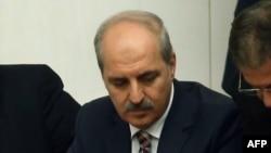 Premýer-ministriň orunbasary Numan Kurtulmus, Ankara, 2015.