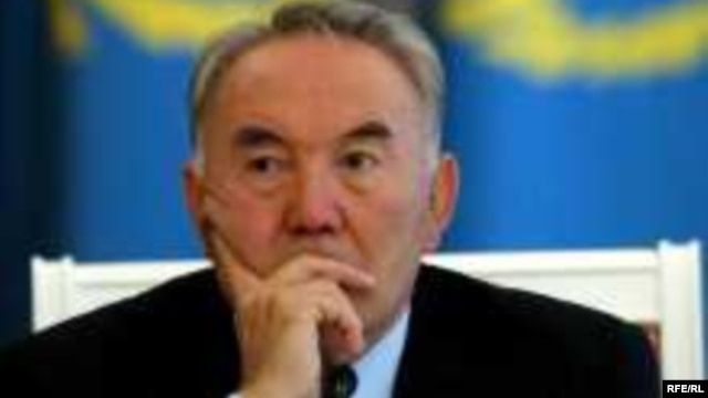 Kazakh President Nursultan Nazarbaev (file photo)
