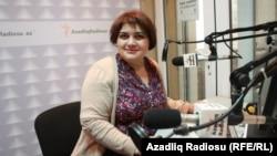 Журналистка Хадиджа Исмаилова.
