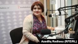 Әзербайжандық журналист Хадижа Исмаилова.