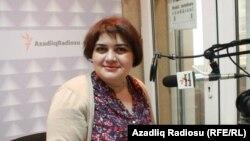 Журналист-расследователь Хадиджа Исмайлова
