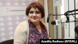 Журналист Азербайджанской редакции Азаттыка Хадиджа Исмаил.