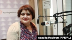 Журналист Азербайджанской редакции Азаттыка Хадиджа Исмаилова.