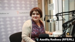 Azerbaijani journalist Khadija Ismayilova (file photo)
