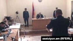Ավետիսյանների սպանության գործով դատական նիստերից մեկը, արխիվ