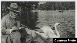 Матисс с лебедем