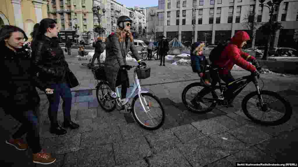 У більшості європейських міст середня кількість пересування на велосипедах становить 10–15%