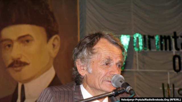Mustafa Dzhemilev, the leader of Ukraine's unofficial Crimean Tatar assembly