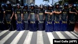 Policija na ulicama Manile