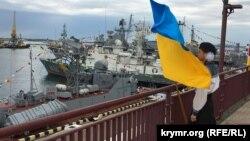 День Военно-морских сил Украины в Одессе, 2 июля 2017 года. Иллюстрационное фото