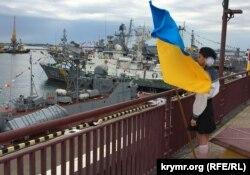 Празднование Дня военно-морских сил Украины в порту Одессы, 2 июля 2017 года