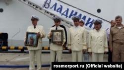Церемонія освячення круїзного лайнера «Князь Владимир»