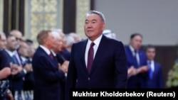 Бывший президент Казахстана Нурсултан Назарбаев. 12 июня 2019 года.