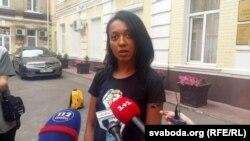 Актывістка Femen Анжаліна Дыяш