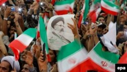 ابراهیم رئیسی، پس از انصراق محمدباقر قالیباف، نامزد جبهه مردمی نیروهای انقلاب اسلامی، جمنا، بود.