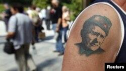 Tetovaža sa likom Josipa Broza Tita