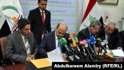 توقيع عقود مشاريع في محافظة البصرة
