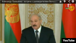Belarus - Alexander Lukashenko during meeting with journalists 21Jan2014