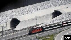 Швейцарияда жаңы ачылган туннель