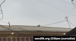 Ғози Мухаммад хожи жоме масжиди томидаги карнай