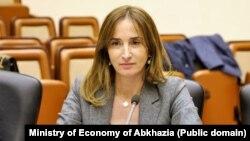 Министр экономики Абхазии Кристина Озган