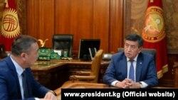 Сооронбай Жээнбеков и Заирбек Эргешов