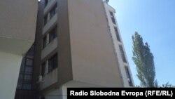 Студентскиот дом Никола Карев во Охрид.