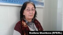 Kazakh lawyer Zinaida Mukhortova