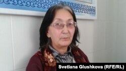 Адвокат Зинаида Мухортова. Астана, 1 қараша 2013 жыл.