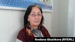 Адвокат Зинаида Мухортова. Астана, 1 ноября 2013 года.