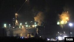 Пожар избувнал на руската нуклеарна подморница Екатеринбург на бродоградилиштето во Мурманск.