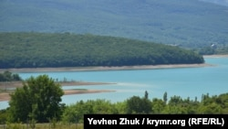 Чернореченское водохранилище, Севастополь