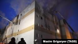 "Пожаре в торговом центре ""Зимняя вишня"", архивное фото"