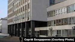 Главный корпус Донецкого университета