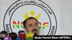 عدنان أنور بك، رئيس اتحاد المنظمات غير الحكومية في إقليم كردستان في مؤتمر صحفي الاحد في اربيل