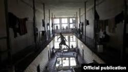 Слика од затворот Идризово