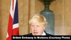 Британи -- Арахьарчу гIуллакхийн секретар Джонсон Борис