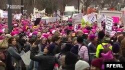 Washington, marșul femeilor, 24 ianuarie 2017